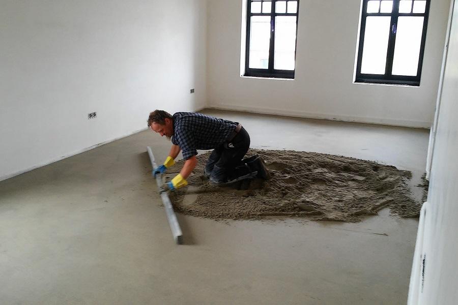 specialist voor chapewerken vloer en tegelwerken